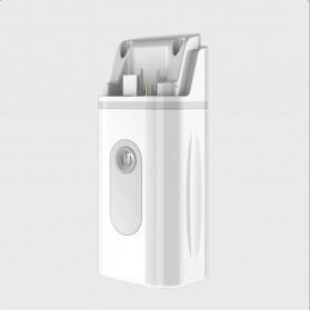 MEETFATE Alat Terapi Pernafasan Asthma Inhale Nebulizer Ultrasonic - MF05 - White/Blue - 5
