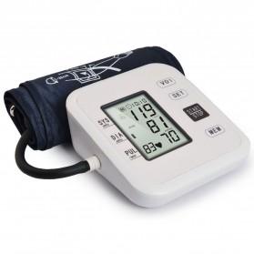 URIT Pengukur Tekanan Darah Tensimeter Blood Pressure Monitor with Voice - LZX-B1681 - White