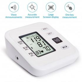 URIT Pengukur Tekanan Darah Tensimeter Blood Pressure Monitor - LZX-B1681 - White - 5