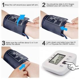 URIT Pengukur Tekanan Darah Tensimeter Blood Pressure Monitor - LZX-B1681 - White - 6