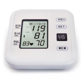 URIT Pengukur Tekanan Darah Tensimeter Blood Pressure Monitor - LZX-B1681 - White - 7