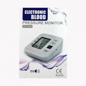 URIT Pengukur Tekanan Darah Tensimeter Blood Pressure Monitor - LZX-B1681 - White - 11