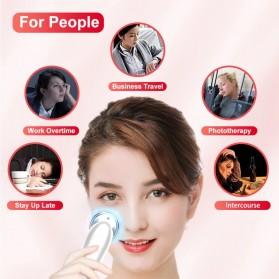 AmazeFan Alat Perawatan Kulit Wajah RF EMS Photon Skin Rejuvenation Mesotherapy - DRY-1005 - White - 5