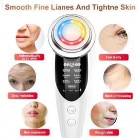 AmazeFan Alat Perawatan Kulit Wajah RF EMS Photon Skin Rejuvenation Mesotherapy - DRY-1005 - White - 6