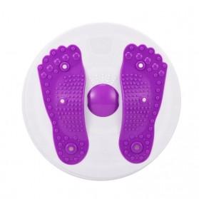 MTCC Alat Pijat Kaki Pelangsing Twist Disc Foot Acupuncture Sport Fitness Board - RP427 - Purple