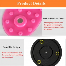 MTCC Alat Pijat Kaki Pelangsing Twist Disc Foot Acupuncture Sport Fitness Board - RP427 - Purple - 5