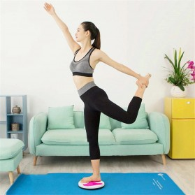 MTCC Alat Pijat Kaki Pelangsing Twist Disc Foot Acupuncture Sport Fitness Board - RP427 - Purple - 6