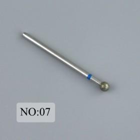 Mata Bits Manicure Pedicure Kikir Kuku Nail Drill 7PCS Model No.07 - Silver - 2