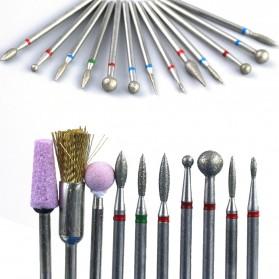 Mata Bits Manicure Pedicure Kikir Kuku Nail Drill 7PCS Model No.07 - Silver - 3