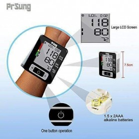 PRSUNG Pengukur Tekanan Darah Electronic Sphygmomanometer - PRS300 - Black - 2