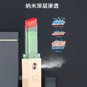 CkeyiN Pelembab Kulit Portable Mini Nano Spray Beauty Skin Lipstick Design - MR234 - Black Gold - 4