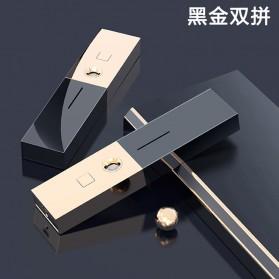 CkeyiN Pelembab Kulit Portable Mini Nano Spray Beauty Skin Lipstick Design - MR234 - Black Gold - 5