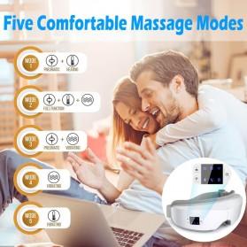 Mito Alat Pijat Kompres Mata Smart Airbag Vibration Eye Massager Bluetooth Music - JB-018 - White - 2