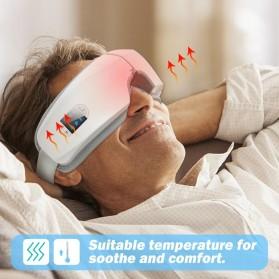 Mito Alat Pijat Kompres Mata Smart Airbag Vibration Eye Massager Bluetooth Music - JB-018 - White - 3