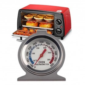 Breacuit Termometer Oven Food Meat Temperature Gauge - HG215 - Silver