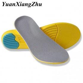 YuanXiangZhu Alas Sol Dalam Sepatu Olahraga Running Cushion Insole 35-40 - L2018 - Yellow