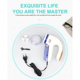 JINGAO Pencukur Serat Bulu Kain Baju Cloth Lint Remover Shaver Fuzz Trimmer - JA-768 - White - 6