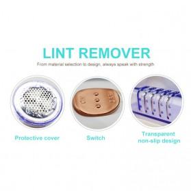 JINGAO Pencukur Serat Bulu Kain Baju Cloth Lint Remover Shaver Fuzz Trimmer - JA-768 - White - 7