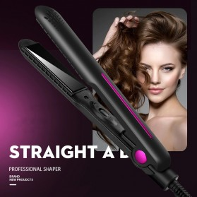 YUCHUN Catokan Rambut Negative Ion Hair Straightening Comb - ZF-5689 - Black