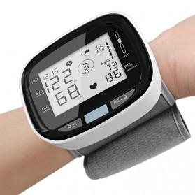 WristBlood Pengukur Tekanan Darah Tensi Electronic Blood Pressure Monitor Without Voice - C205L8 - Black