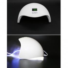 SUNUV 5S Pengering Kutek Kuku UV LED Nail Dryer 48W - White - 3