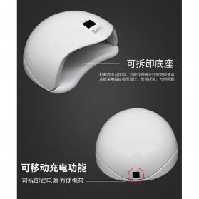 SUNUV 5S Pengering Kutek Kuku UV LED Nail Dryer 48W - White - 4