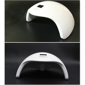 SUNUV 5S Pengering Kutek Kuku UV LED Nail Dryer 48W - White - 5