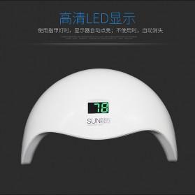 SUNUV 5S Pengering Kutek Kuku UV LED Nail Dryer 48W - White - 6