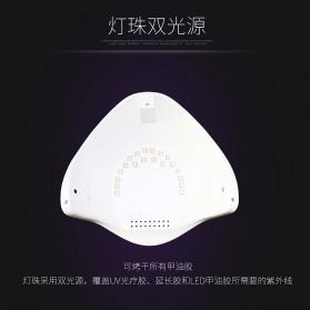 SUNUV 5S Pengering Kutek Kuku UV LED Nail Dryer 48W - White - 7