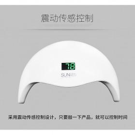 SUNUV 5S Pengering Kutek Kuku UV LED Nail Dryer 48W - White - 8