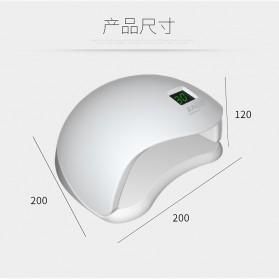 SUNUV 5S Pengering Kutek Kuku UV LED Nail Dryer 48W - White - 9