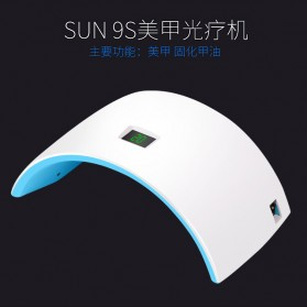 Inlife Pengering Kutek Kuku UV LED Nail Dryer 24W - SP18032403 - White