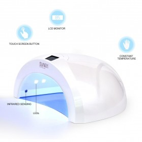 SUNUV SUN1 Pengering Kutek Kuku UV LED Nail Dryer 48W with Rechargeable Battery - White - 3