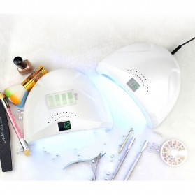 SUNUV SUN1 Pengering Kutek Kuku UV LED Nail Dryer 48W with Rechargeable Battery - White - 4