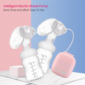 Miss Baby Pompa ASI Elektrik Otomatis Double Milk Breast Pump - MZ-702T - Pink - 3