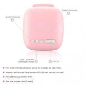 Miss Baby Pompa ASI Elektrik Otomatis Double Milk Breast Pump - MZ-702T - Pink - 4