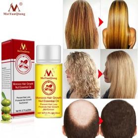 MeiYanQiong Serum Rambut Morocco Hair Growth Nut Essential Oil 20ml - 2