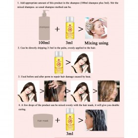 MeiYanQiong Serum Rambut Morocco Hair Growth Nut Essential Oil 20ml - 8