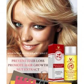 MeiYanQiong Serum Rambut Morocco Hair Growth Nut Essential Oil 20ml - 9