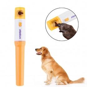 HAWOO Gunting Kuku Elektrik Anjing Kucing Pet Nail Trimmer Grinding - Yellow