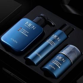 Venzen Men Refreshing Skin Care Set Cleanser Toner Cream 3 PCS - 6941 - 3