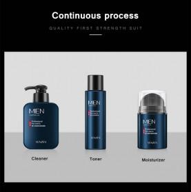 Venzen Men Refreshing Skin Care Set Cleanser Toner Cream 3 PCS - 6941 - 4