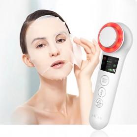 ANLAN BDRYJY-M02 Face Massager Alat Pijat Perawatan Kulit Wajah EMS Iontophoresis - ALDRY05Y-02 - White - 2