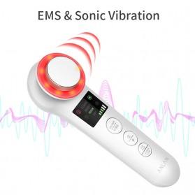 ANLAN BDRYJY-M02 Face Massager Alat Pijat Perawatan Kulit Wajah EMS Iontophoresis - ALDRY05Y-02 - White - 6