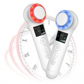 ANLAN BDRYJY-M02 Face Massager Alat Pijat Perawatan Kulit Wajah EMS Iontophoresis - ALDRY05Y-02 - White - 7