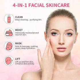 ANLAN BDRYJY-M02 Face Massager Alat Pijat Perawatan Kulit Wajah EMS Iontophoresis - ALDRY05Y-02 - White - 11