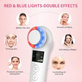 ANLAN BDRYJY-M02 Face Massager Alat Pijat Perawatan Kulit Wajah EMS Iontophoresis - ALDRY05Y-02 - White - 12