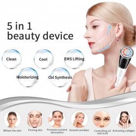 ANLAN DRY06 Face Massager Alat Pijat Perawatan Kulit Wajah EMS Vibration - ALDRY06J-02 - White - 10