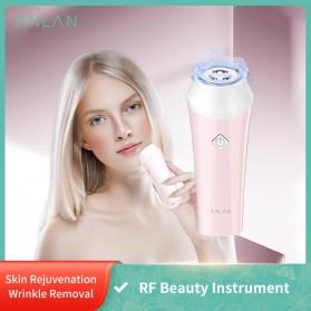 ANLAN KC-6100 Face Massager Alat Pijat Perawatan Kulit Wajah EMS RF- ALSPY01-04 - Pink