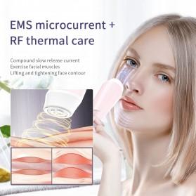 ANLAN KC-6100 Face Massager Alat Pijat Perawatan Kulit Wajah EMS RF- ALSPY01-04 - Pink - 10